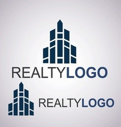 Realty logo 9 2 vector