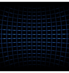 abstract blue net vector image