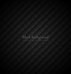Black background with pattern vector