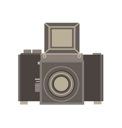 camera retro vintage old photography photo film vector image vector image