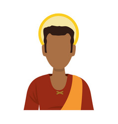 Saint joseph cartoon vector