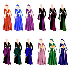 Dress collection vector