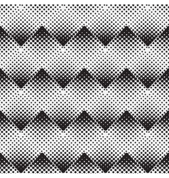 Halftone background seamless pattern vector
