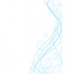 abstract in blue vector image vector image