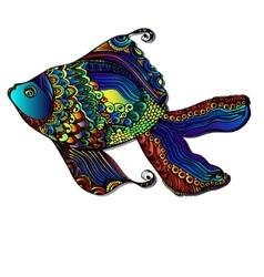 Beautiful bright fish vector image vector image