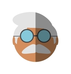 People face old man icon image vector