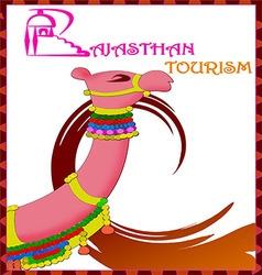 Rajasthan tousim artwork vector