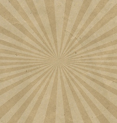 Sunburst Cardboard vector image