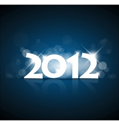 New year card 2012 vector