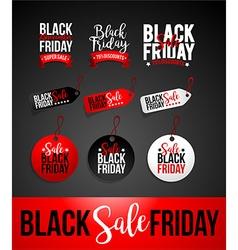 Black friday sale discount banner vector