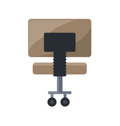 Office chair isolated vector
