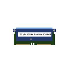 Ram 160 icon vector