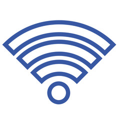 signal wifi connection vector image vector image