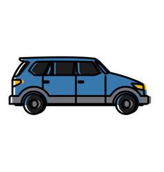 Suv sport vehicle vector