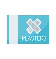 Patch plaster vector