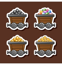 Tub stickers vector