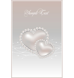 Pastel pearls vector