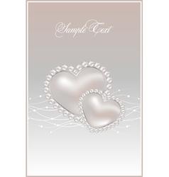 pastel pearls vector image