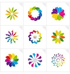 logo design elements vector image