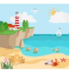 coast vector image