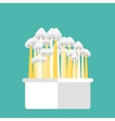 Magic mushrooms grow kit vector