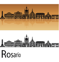 Rosario skyline vector