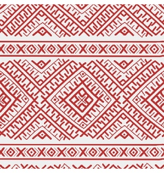 russian stripes ethnic seamless pattern pr vector image vector image