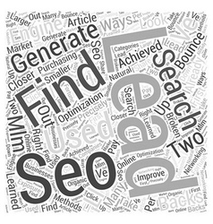 Where do you find mlm leads word cloud concept vector