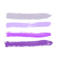 Set of gray purple lilac lavender violet vector