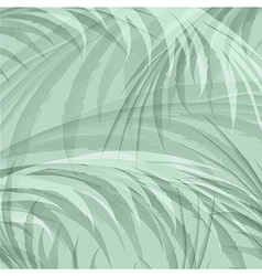 Palm leaf jungle background vector