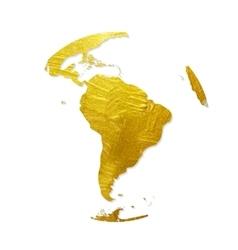 Globe golden grunge icon vector