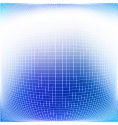 bulging grid vector image