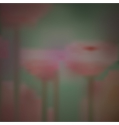 Blurred background of flowers design vector