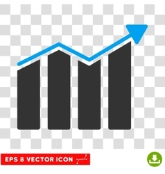 Trend Eps Icon vector image