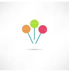 candy icon vector image