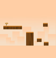 Game background style with building vector