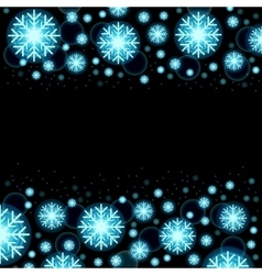 Glowing shiny christmas background eps10 vector image vector image
