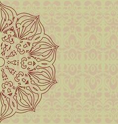 Oriental Card vector image