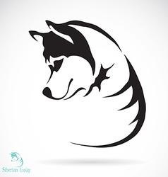 Siberian husky vector
