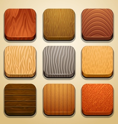 Wood background for the app icons-part 2 vector