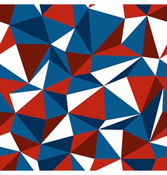 Blue and red triangle seamless vector