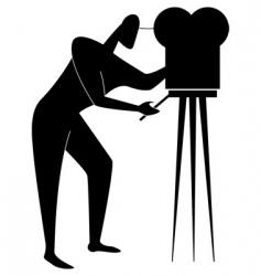 cameramenxeps vector image