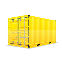 cargo container 013 vector image vector image