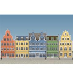 European old town vector