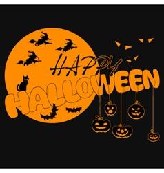 Halloween-yellow vector