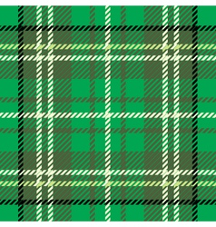 Tartan cloth pattern vector image