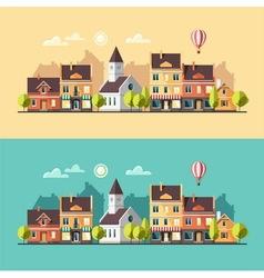 Urban landscape Cityscape vector image
