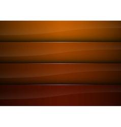 background orange stripe vector image vector image