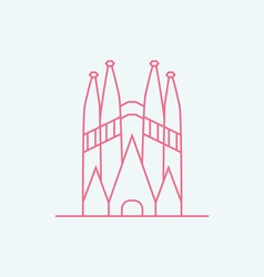 Sagrada familia vector