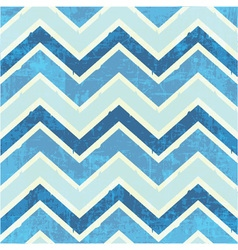 Chevron pattern in blue vector image